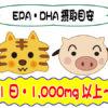 EPA・DHA摂取目安